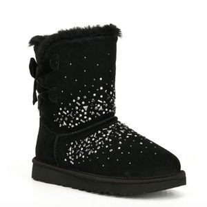 UGG Classic Galaxy Bling Embellished Suede Boots